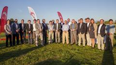 Altos ejecutivos de Skretting visitan Chile acuicultura