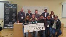 Primer premio Fishackathon 2018 España. Foto: Embajada de EEUU en Madrid