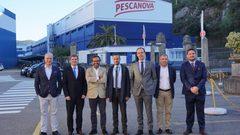Visita de Juan Bosch a Pescanova