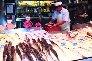 Mostrador pescado