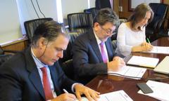 Constitución grupo de trabajo para abordar cambio climático en pesca y acuicultura. Foto: Subpesca