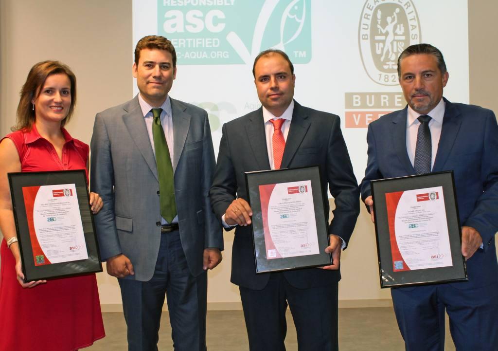 Espa a ya cuenta con las primeras certificaciones asc - Bureau veritas espana ...