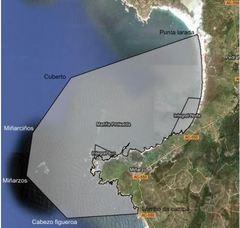 Area Marina Protegida Os Miñarzos en Lira