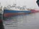 Accion de Greenpeace contra arrastreros en el puerto de Vigo