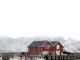 Noruega puerto de Leknes