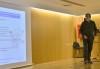 Julio Maroto, coordinador del área de Tecnología de los Productos Pesqueros de CETMAR, durante su intervención en la reunión de lanzamiento de BlueHuman
