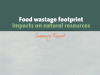 """Food Wastage Footprint: Impacts on Natural Resources"""