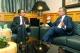 José Luis Rodríguez Zapatero y Paulino Rivero, en Las Palmas de Gran Canaria.