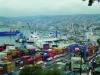 Flota en puerto. Chile