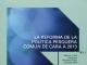 La reforma de la PPC de cara a 2013