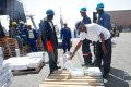Inspección pesca ilegal en África