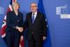 Theresa May Jean Claude Juncker